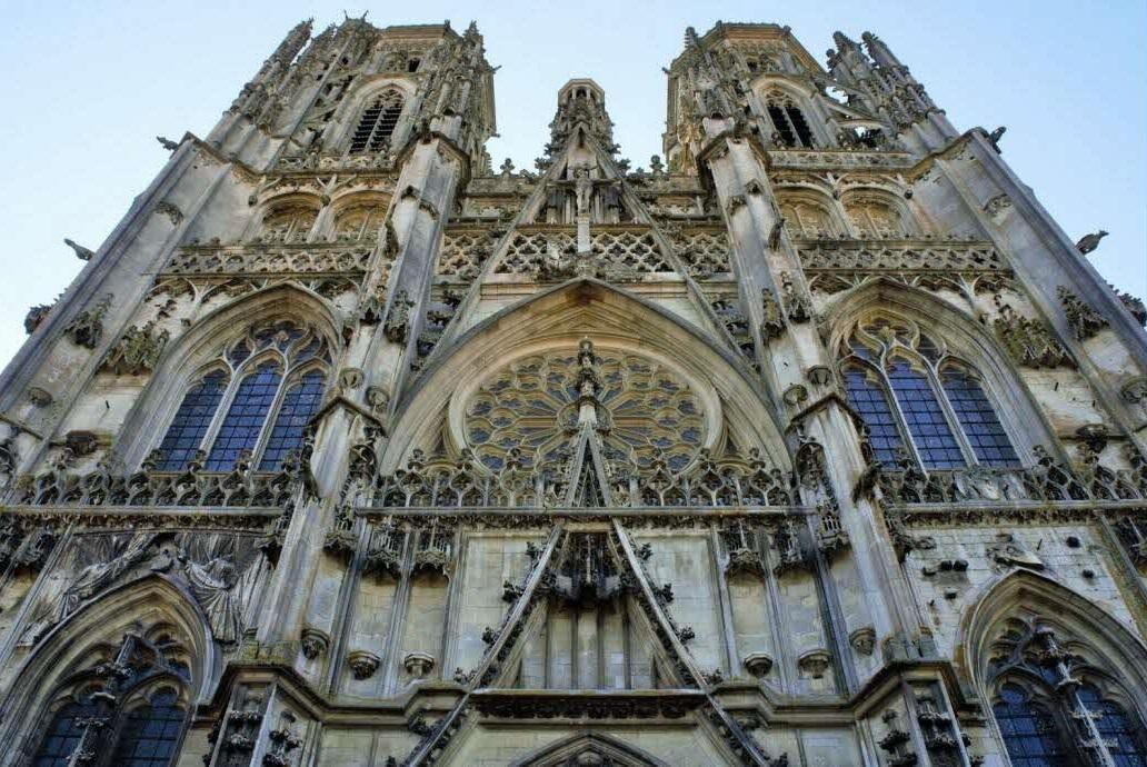 La cathédrale Saint-Étienne de Toul près de Nancy
