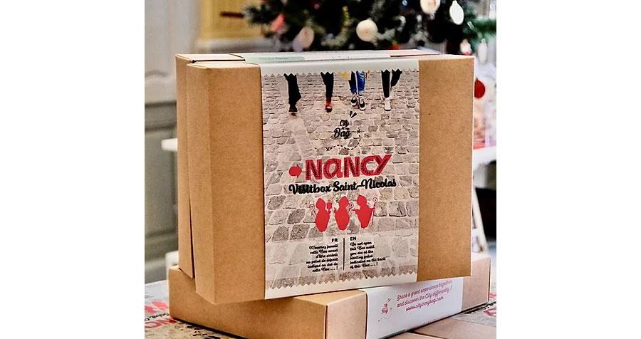 Box City in my Bag à Nancy