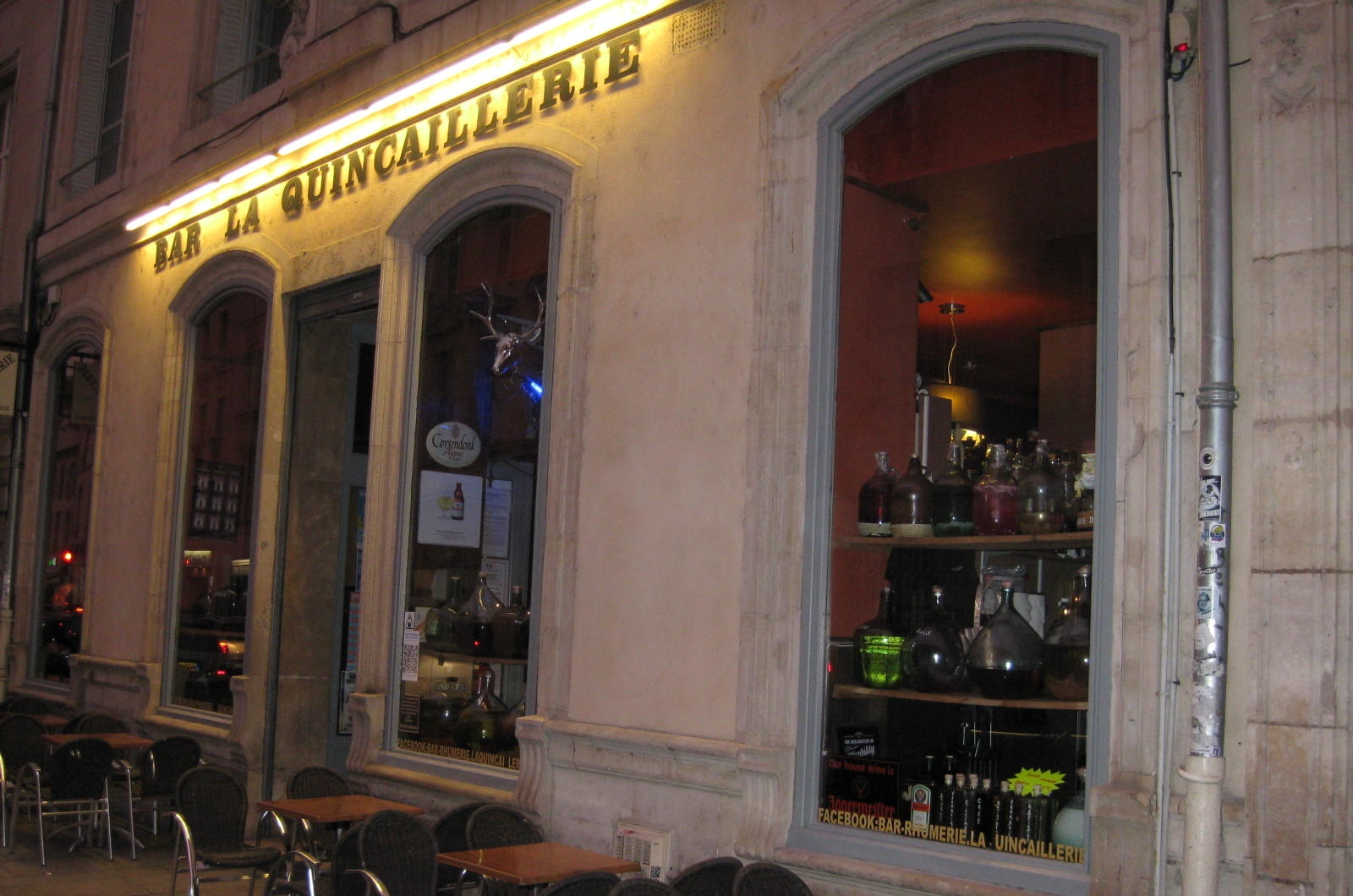 Le bar la Quincaillerie à Nancy