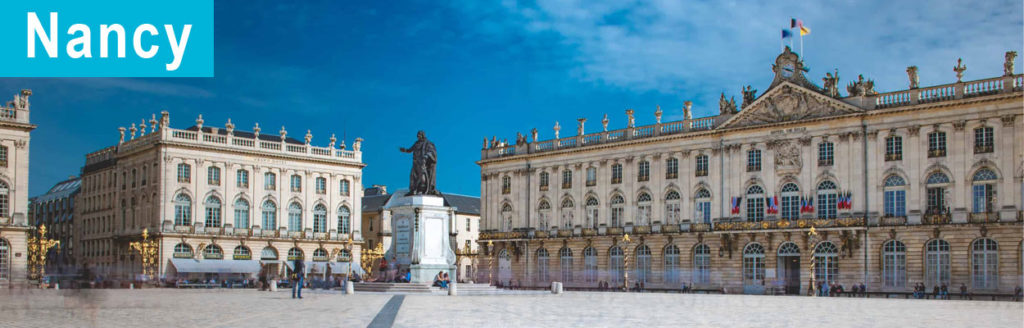 La ville de Nancy en France