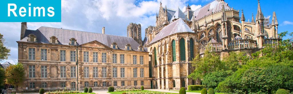 La ville de Reims en France