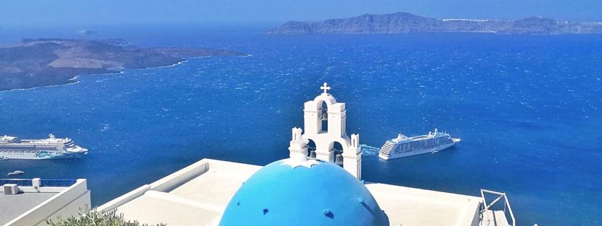 Baie de Santorin