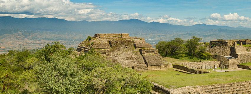 Une cité Maya au Mexique