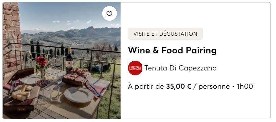 Visite vignoble en Toscane