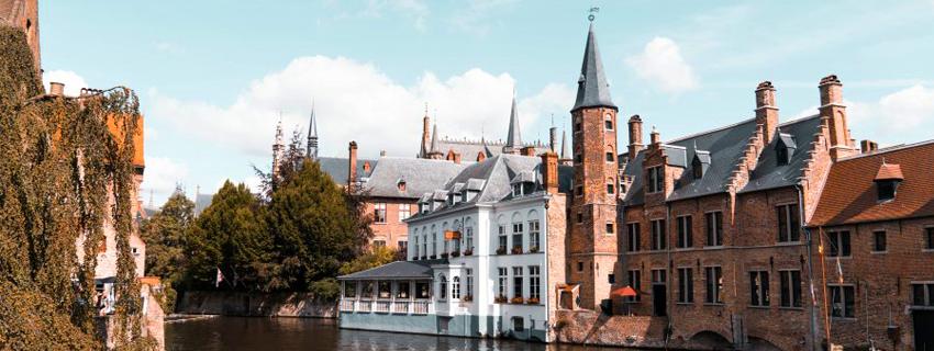 Une des canaux de Bruges
